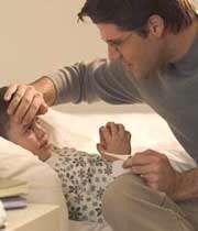 تشنج ناشی از تب کودک
