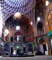 каравансарай амин-аль-доуле_самое красивое место на кашанском базаре