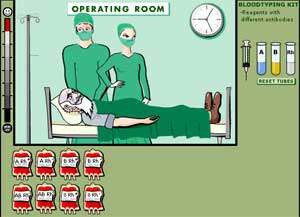 بازی انتقال خون