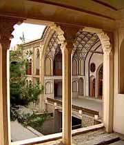 кашан, дворец америха