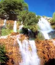 водопад в ниосаре