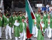 کلیپ رژه کاروان ایران در المپیک پکن