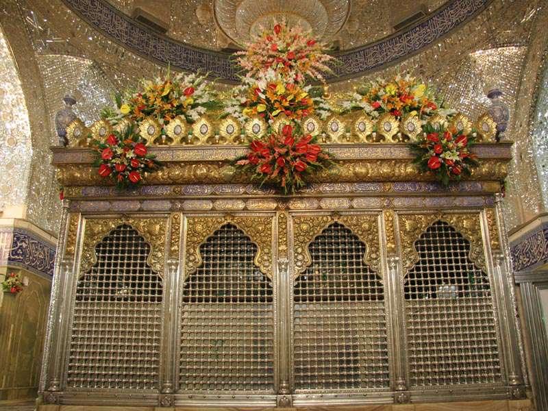 عکس حرم حضرت عباس و  حسین