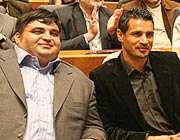 علی دایی و حسین رضازاده