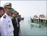 خط تولید زیردریایی قائم افتتاح شد