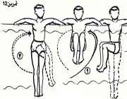 تمرینات آب درمانی16