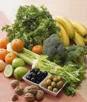 مقدار فیبر در غذاهای مختلف