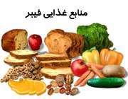 منابع غذایی فیبر