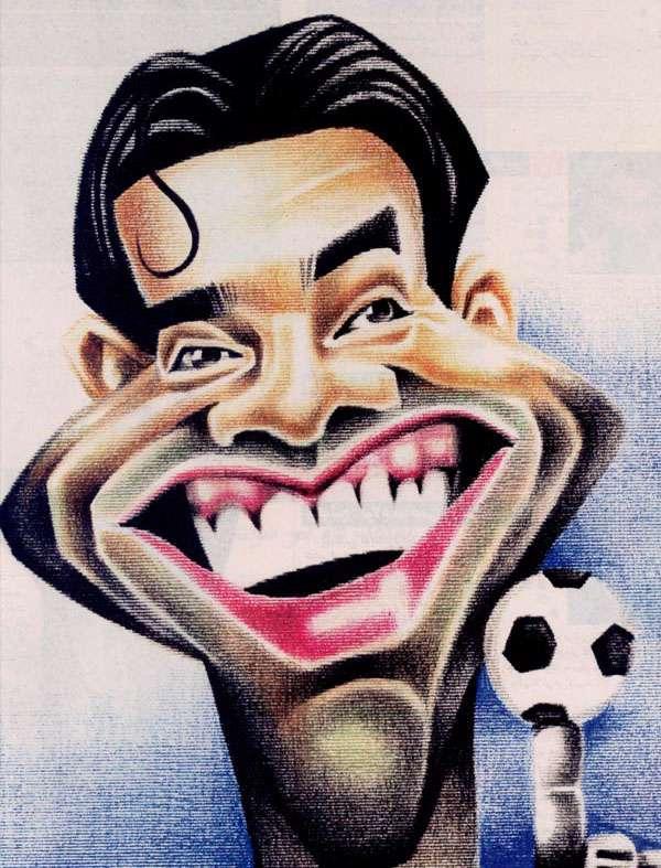 کاریکاتور چهره های ورزشی