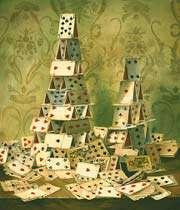 un château de cartes bien fragile: soufflons un peu!