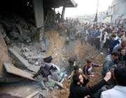une offensive israélienne à gaza