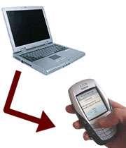 ارسال پیامک با کامپیوتر، بدون اتصال به اینترنت