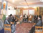 حضور سرپرست حجاج ايراني در بعثه مراجع عظام تقليد