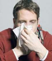 فرد سرماخورده