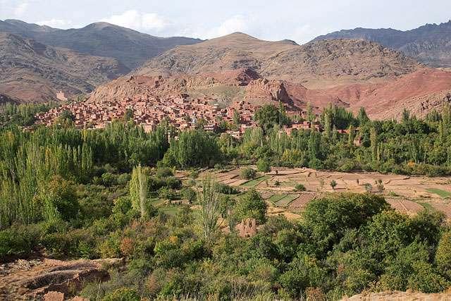 تصاویر دیدنی از روستای ابیانه (4)