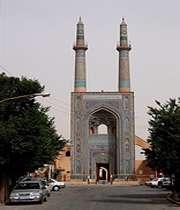 شاهکاری در معماری مسجد جامع یزد