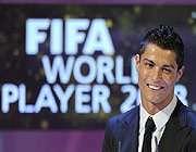 رونالدو مرد سال فوتبال جهان شد