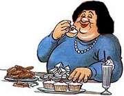 لذت کمتر از غذا = چاقي بيشتر