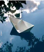 قایق کاغذی