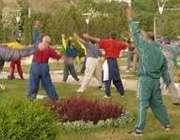 ورزش همگاني در پارک
