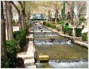 hot water springs in mahalat