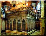 the holy shrine of 'hazrat masoomeh'