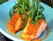 rosted salmon