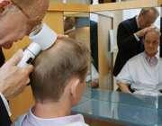 بررسی موی سر