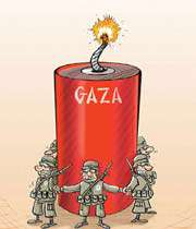 holocaust in gaza
