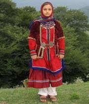 لباس محلی زنان شهر رامیان