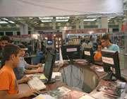 غرفه تبیان در نمایشگاه رسانه های دیجیتال