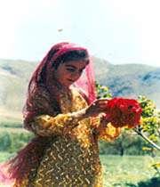 une jeune fille kurde