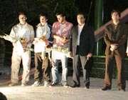 مسابقات بدمینتون در پارک  لاله