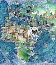 نقشه بناهای مسلمانان