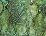 fragment d'un plat en bronze, ~vic-~v s.
