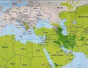 نقشه مسلمانان جهان