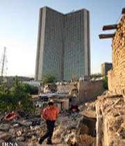 زاغهنشینی در کنار برج بینالمللی تهران!
