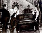 laurel and hardy, the music box