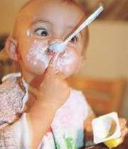 ماست برای اسهال نوزادان مفید است