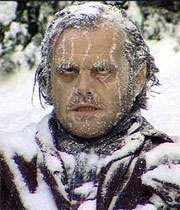جک نیکلسون در نمایی از فیلم سینمایی تلالو