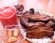 مواد لازم برای بورانی بادمجان