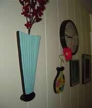 گلدان چوبی(کاردستی)
