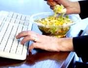 در محل کار هم صحیح غذا بخورید