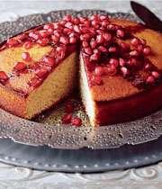 کیک با آب انار
