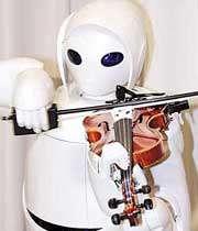 ربات نوازنده