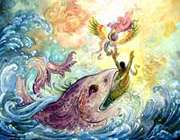 حضرت یونس در دریا