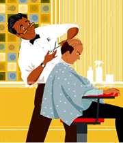 آرایشگر ناشی