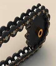 چرخ دنده خورشیدی و زنجیر