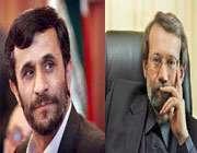 نامه لاریجانی به احمدی نژاد