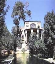 l'édifice de khosrow-abad, sanandaj
